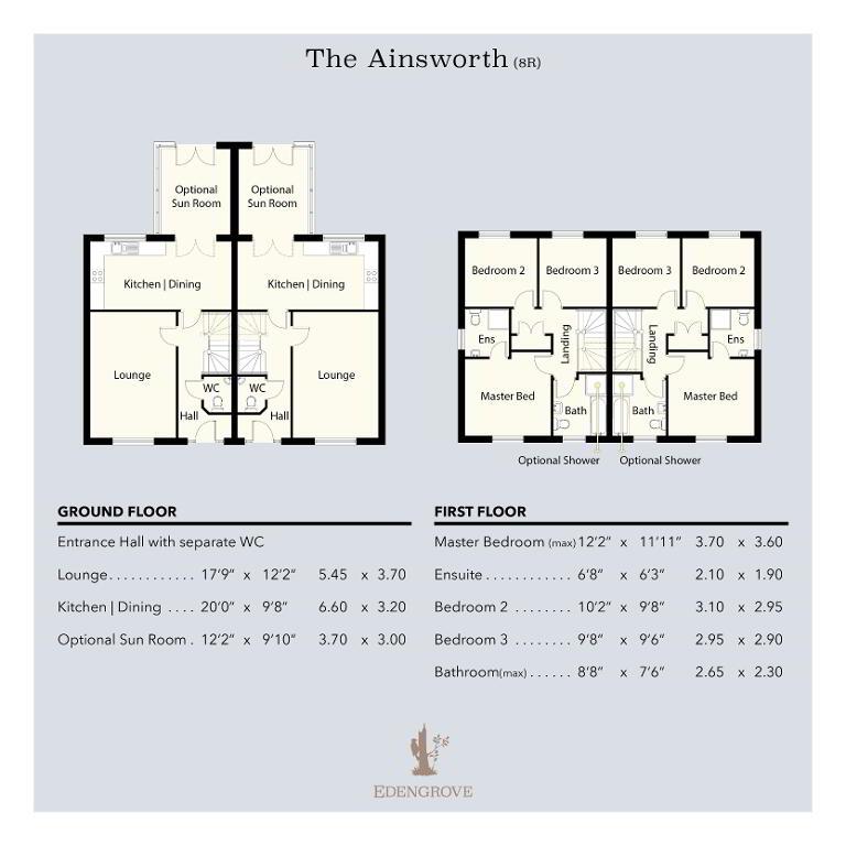 Floorplan 1 of The Ainsworth, Edengrove, Edengrove, Ballynahinch