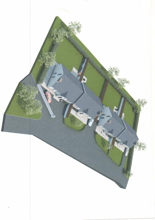 Floorplan 1 of Four Bedroom Semi-Detached Dwelling, St. Marys Terrace, St....Middletown, Armagh