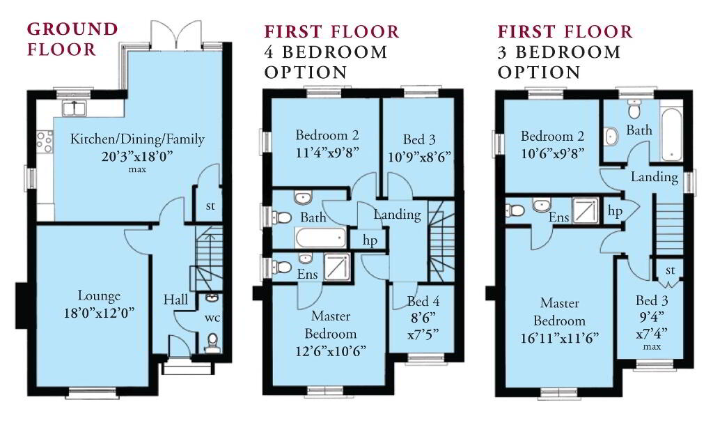 Floorplan 1 of The Sketrick, St Andrews Point, Ballyhemlin, Ballyhalbert