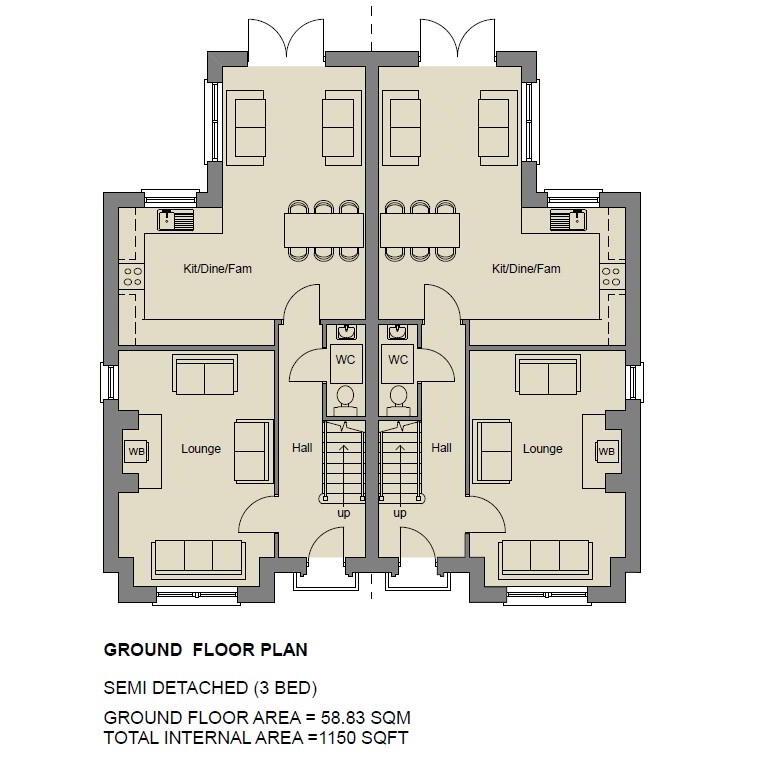 Floorplan 1 of The Ruby, Stoney Manor, Woodside Road, L'Derry