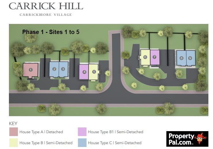 Floorplan 3 of House Type C, Carrick Hill, Carrickmore, Omagh