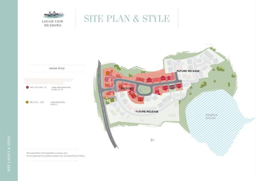 Floorplan 3 of The Cuilcagh, Lough View Meadows, Derrygonnelly Road, Enniskillen