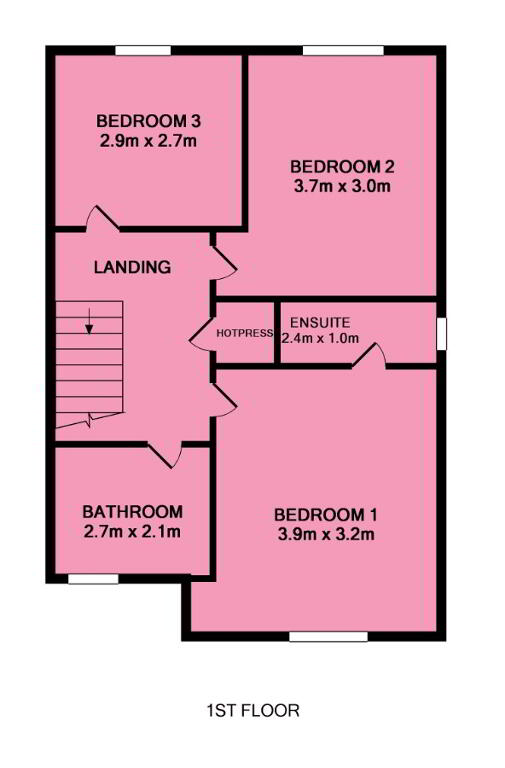 Floorplan 2 of Detached, Ballybay Meadows, Loughgall Road, Portadown