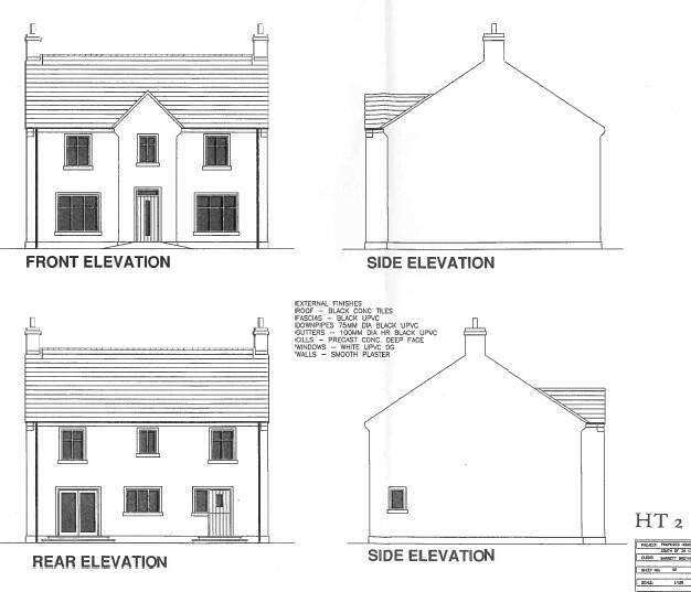 Floorplan 1 of House Type 2, Corradinna Lane, Corradinna Road, Omagh