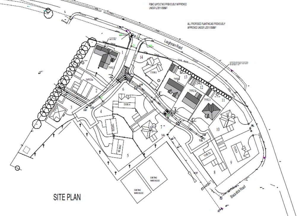 Floorplan 1 of Site 13, Castle Coole Manor, Lough Yoan Road, Enniskillen