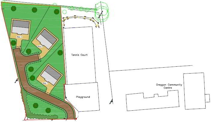 Floorplan 3 of Four Bed Chalet Bungalow, Creggan, Carrickmore, Omagh