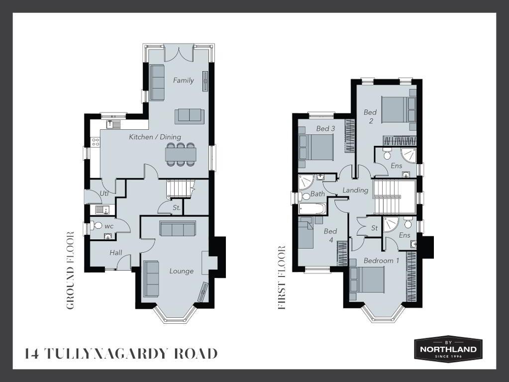 Floorplan 1 of 14 Tullynagardy Road, Tullynagardy Road, Tullynagardy Road, Newtownards