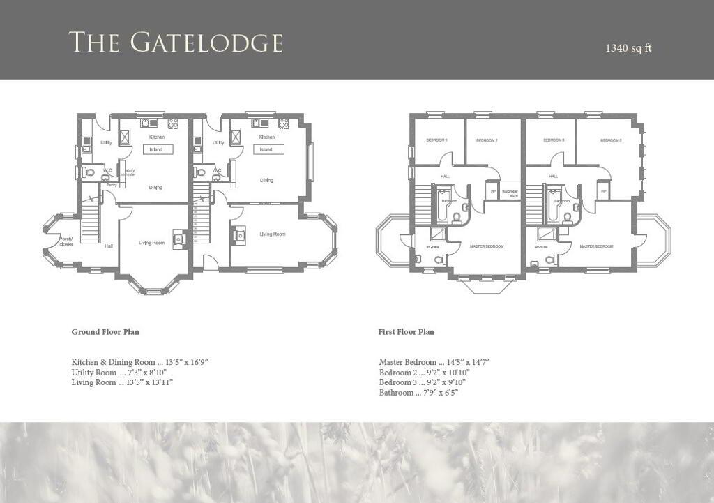 Floorplan 1 of The Gatelodge - House Type 2, Old Corn Mill, Killyman, Dungannon