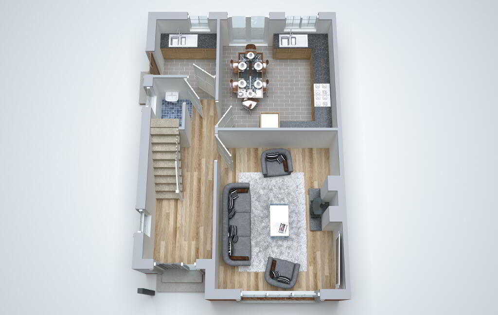 Floorplan 4 of Pinefield Avenue, Omagh