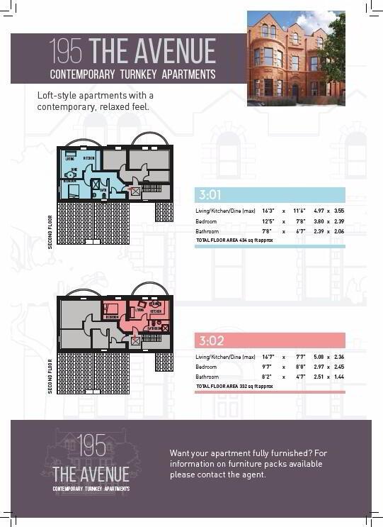 Floorplan 2 of 3:01, The Avenue, 195 Templemore Avenue, Belfast