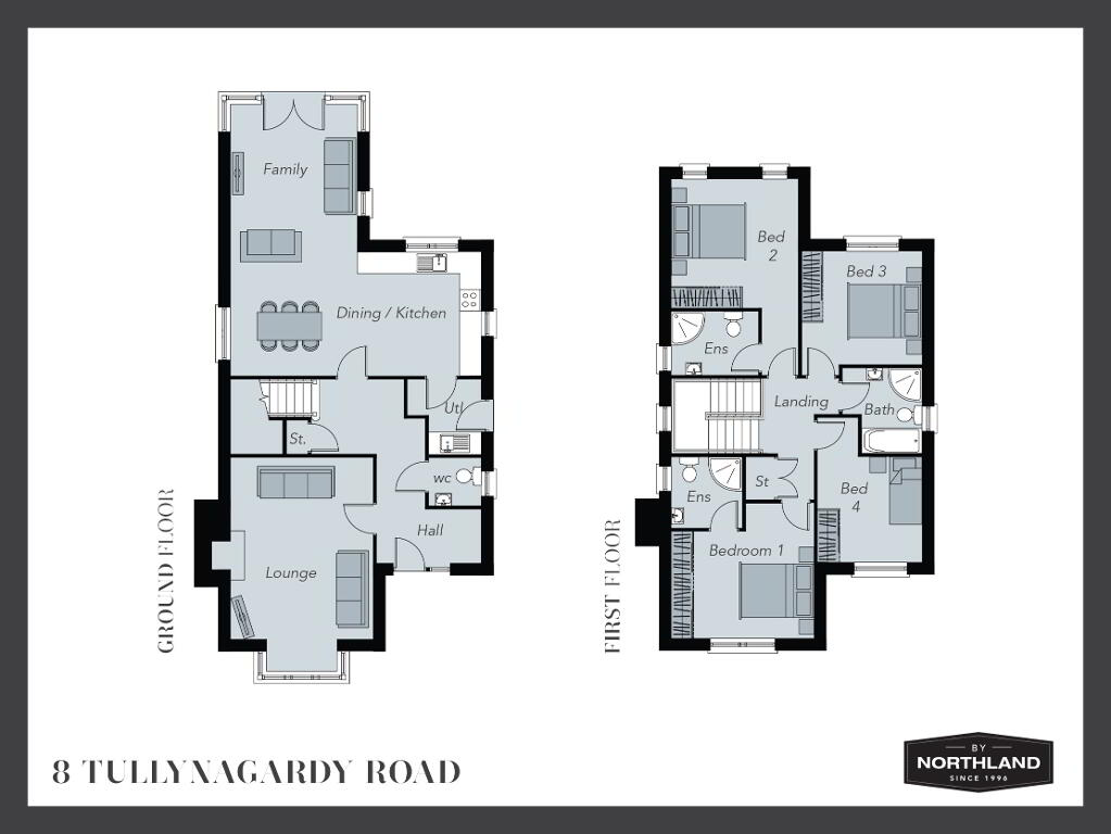 Floorplan 1 of 8 Tullynagardy Road, Tullynagardy Road, Tullynagardy Road, Newtownards