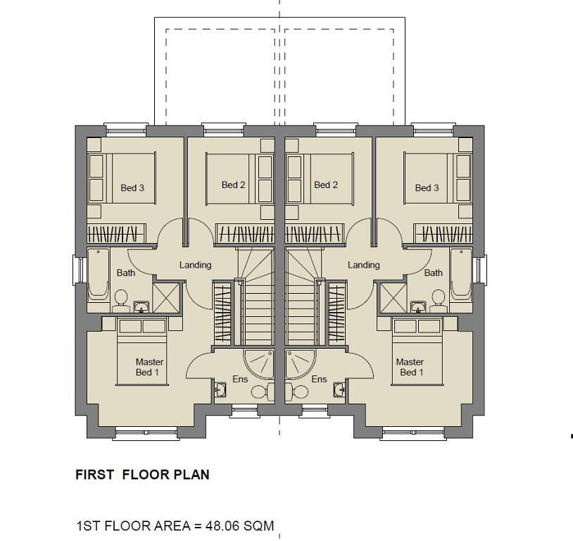 Floorplan 2 of The Ruby, Stoney Manor, Woodside Road, L'Derry