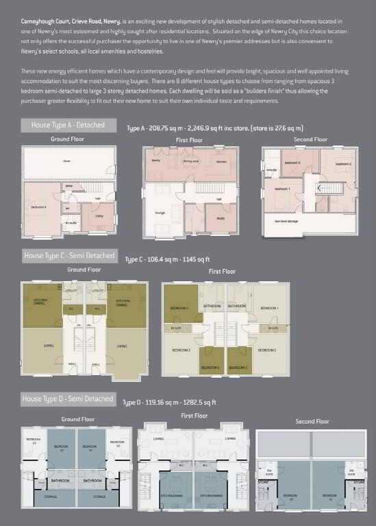 Floorplan 2 of Carneyhough Court, Carneyhough Court, Crieve Road, Newry