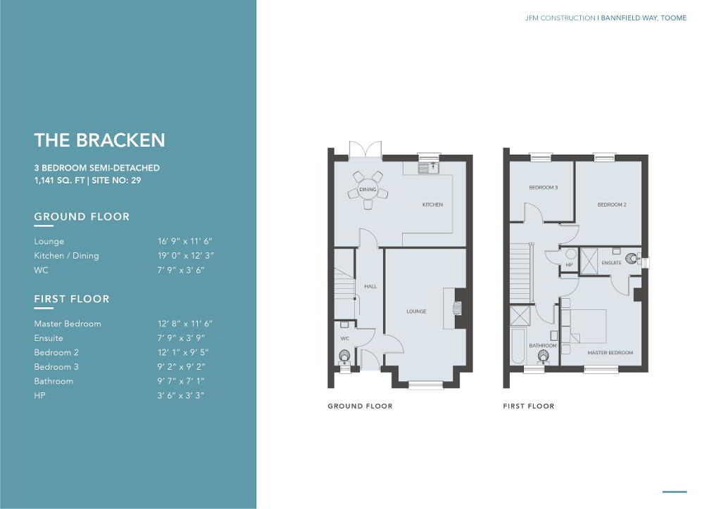 Floorplan 1 of The Bracken, Bannfield Way, Main Street, Toomebridge