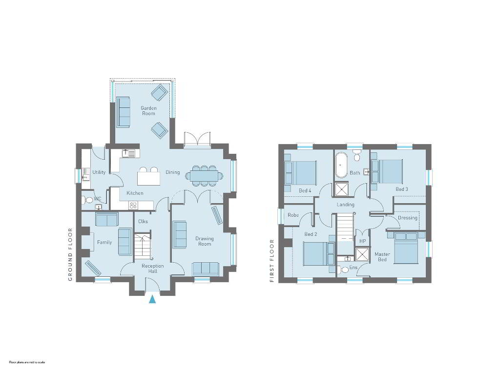 Floorplan 1 of The Chambers, Carbet Road, Portadown