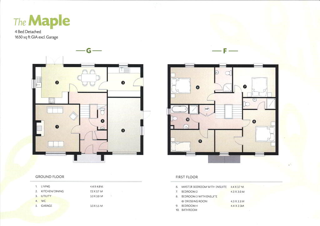 Floorplan 1 of The Maple, Drumgarrow Avenue, Coa Road, Enniskillen
