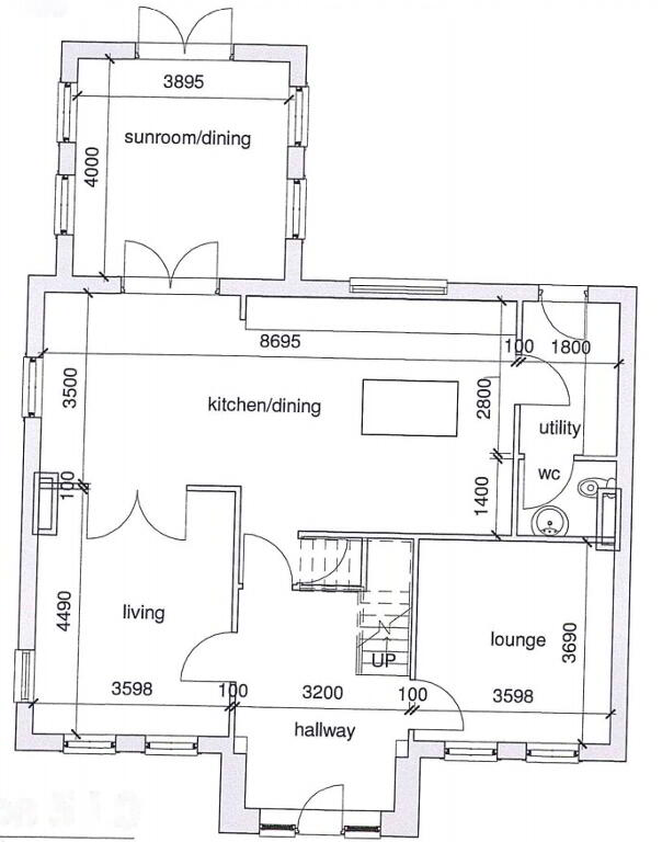 Floorplan 1 of Type 5, Dervaghroy Manor, Church Road, Gortaclare, Omagh