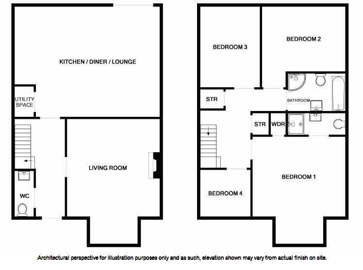 Floorplan 1 of The Brooke, Derryree Wood, Derryree Wood, Lisnaskea
