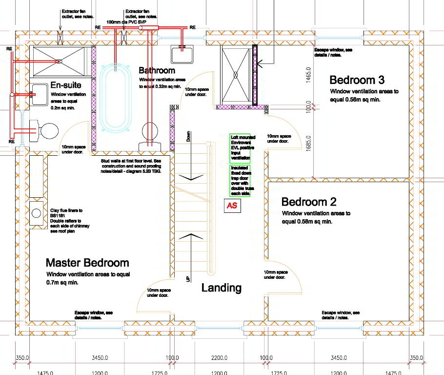 Floorplan 2 of The Bunratty, Castle Glen, Ranfurly Road, Dungannon