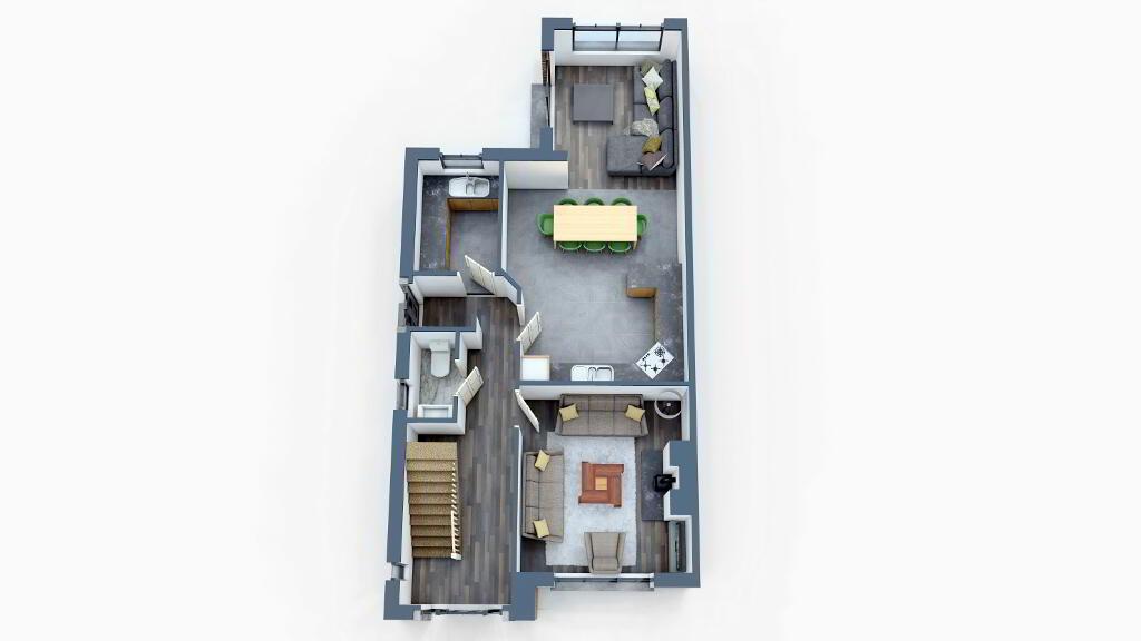 Floorplan 1 of Ht - 2A, Loughmuck Meadows, Fintona