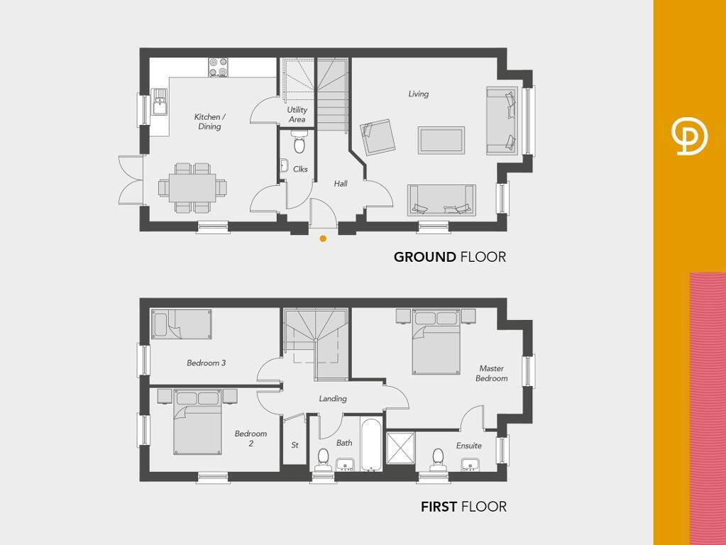 Floorplan 1 of The Hounslow, Drumnagoon Park, Drumnagoon Road, Craigavon
