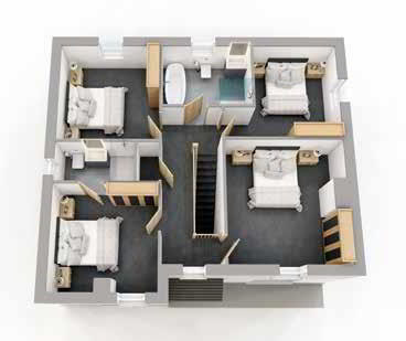 Floorplan 2 of Style A, Ratheden, Tempo