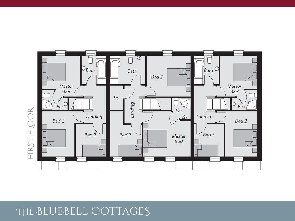 Floorplan 2 of The Bluebell Cottages, Ro Rua, Moneynick Road, Toomebridge