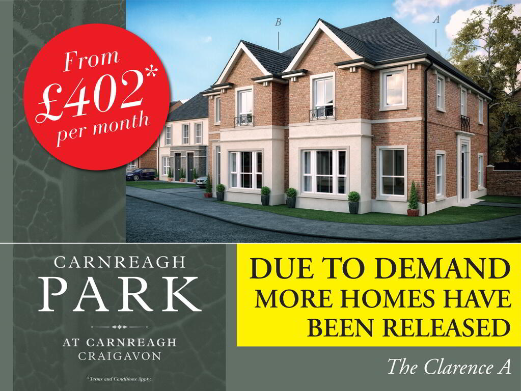 Photo 2 of The Clarence A ( Brick & Render), Carnreagh Park, Off Drumnagoon Road, Craigavon