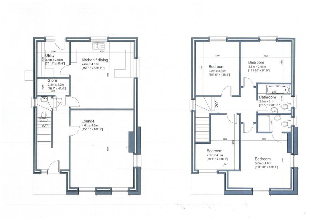 Floorplan 1 of Detached Home, Dundrum Road, Dundrum Road, Dromara