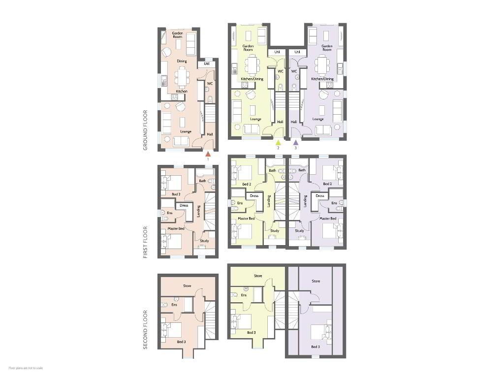 Floorplan 1 of Type C1, College Mews, Doury Road, Ballymena