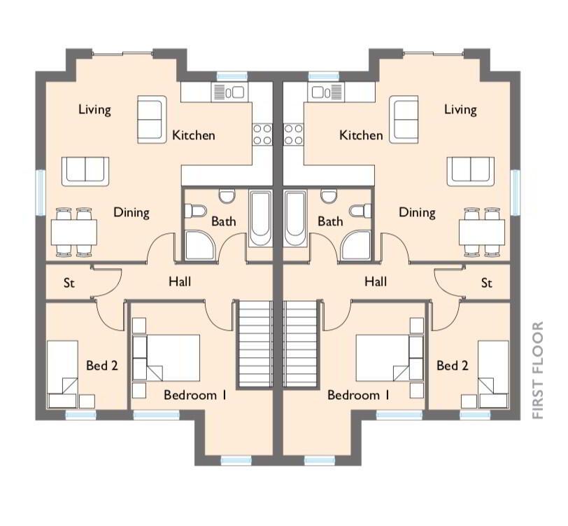 Floorplan 2 of Bowman, Napoleons Gate, Shore Road, Belfast