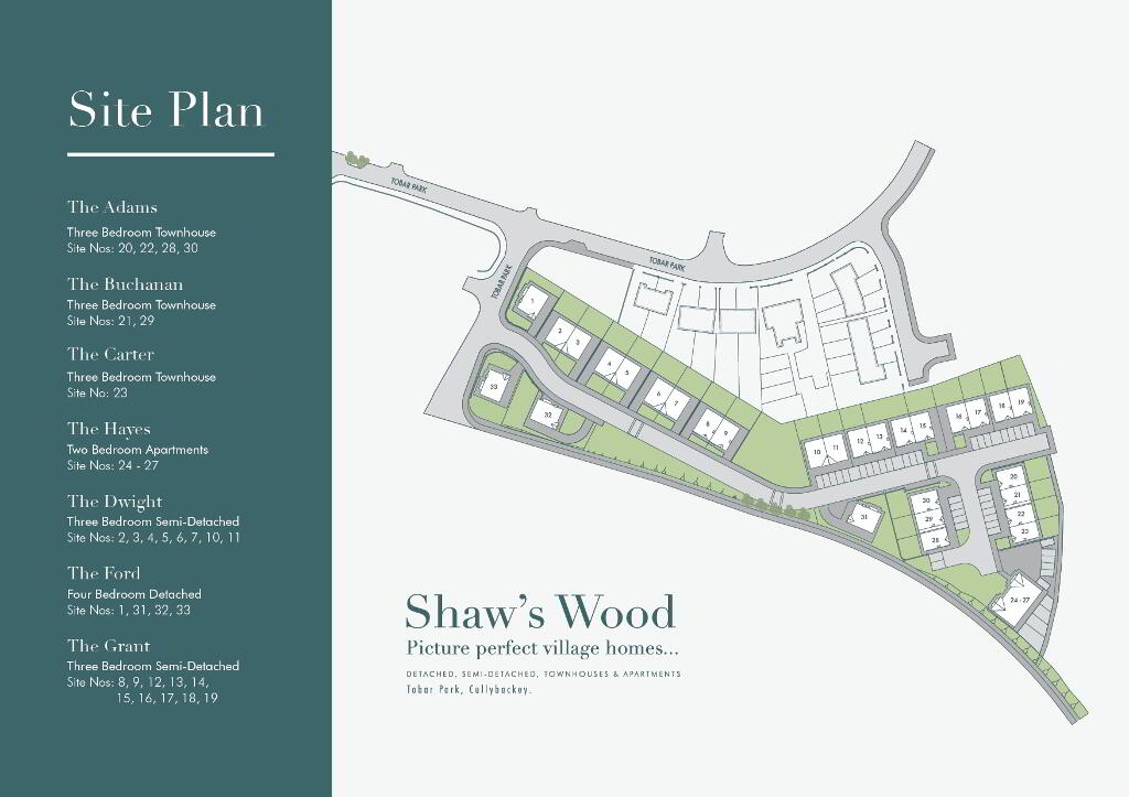 Floorplan 2 of The Ford, Shaw's Wood, Tobar Park, Cullybackey