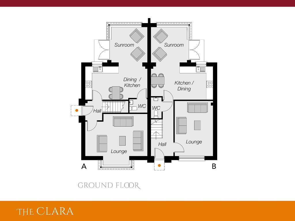 Floorplan 1 of The Clara, Ro Rua, Moneynick Road, Toomebridge