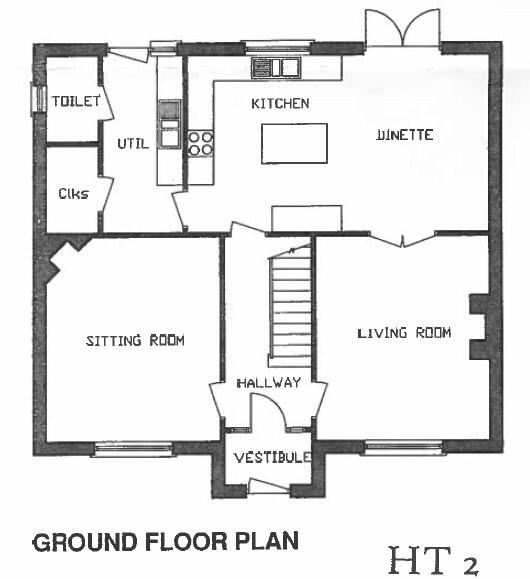 Floorplan 2 of House Type 2, Corradinna Lane, Corradinna Road, Omagh