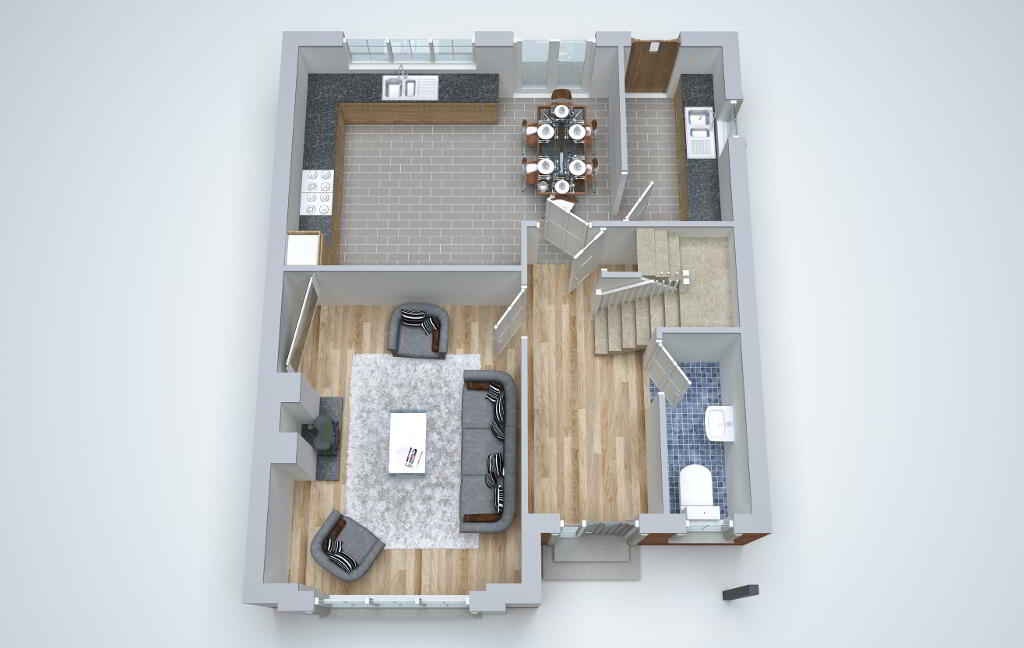 Floorplan 2 of Pinefield Avenue, Omagh