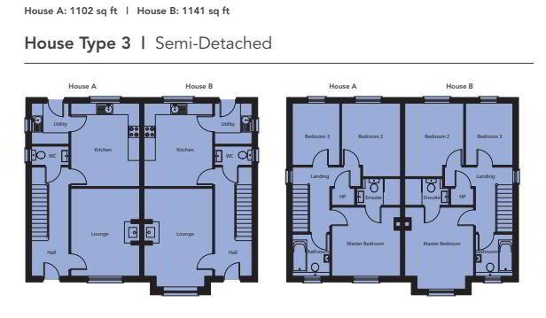 Floorplan 1 of Ht3, Bocombra Manor/Park, Portadown