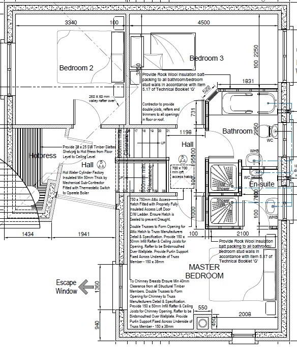 Floorplan 3 of Tullyverry Drive, L'Derry