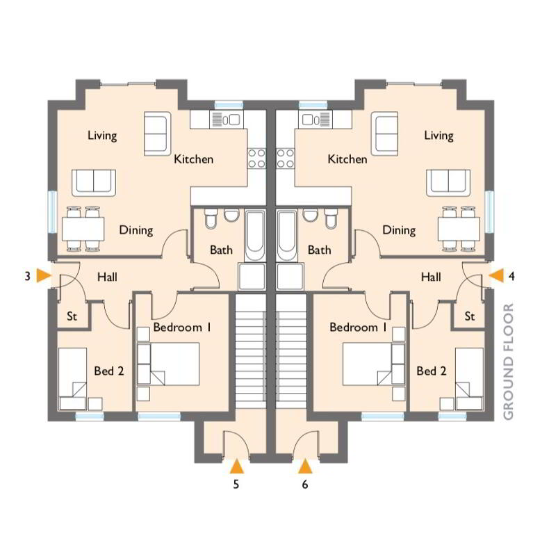 Floorplan 1 of Bowman, Napoleons Gate, Shore Road, Belfast