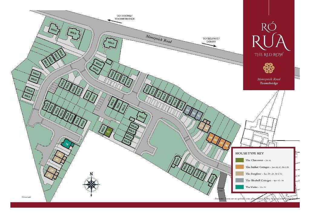 Floorplan 3 of The Amber Cottages, Ro Rua, Moneynick Road, Toomebridge