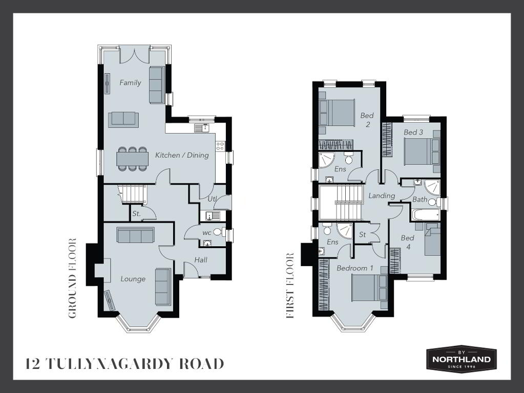Floorplan 1 of 12 Tullynagardy Road, Tullynagardy Road, Tullynagardy Road, Newtownards