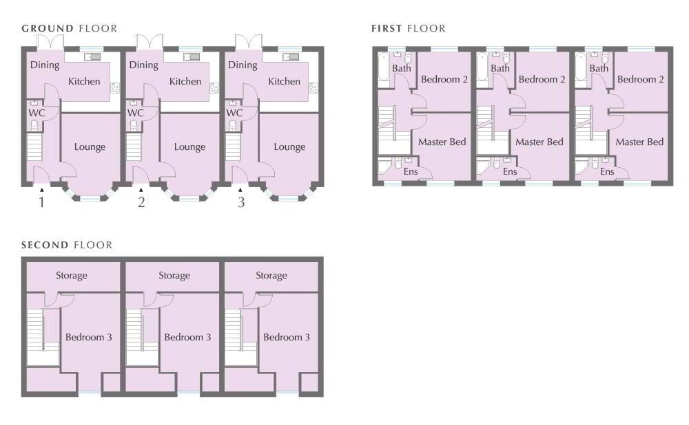 Floorplan 1 of The Robins, Kyle Mews, 42 Cavehill Road, Belfast