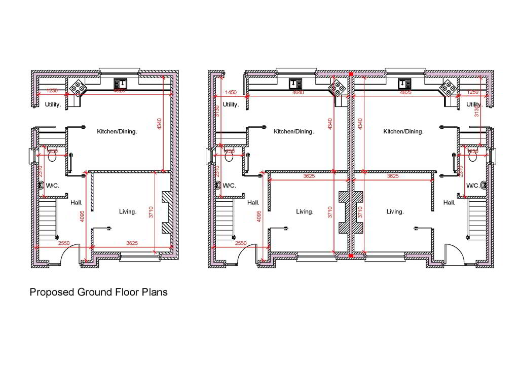 Floorplan 1 of Townhouse, Crewroe Avenue, Armagh
