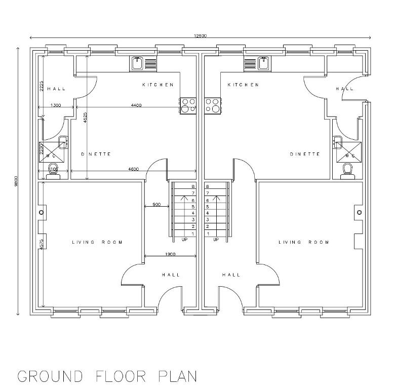 Floorplan 2 of Torrent Glen - Three Bed Semi Detached, Torrent Glen, Dungannon, Castlecaulfield