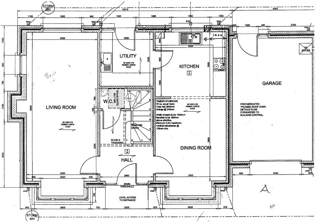 Floorplan 3 of House Type A, Ardess Glebe, Ardess, Kesh