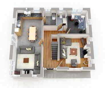 Floorplan 1 of Style A, Ratheden, Tempo