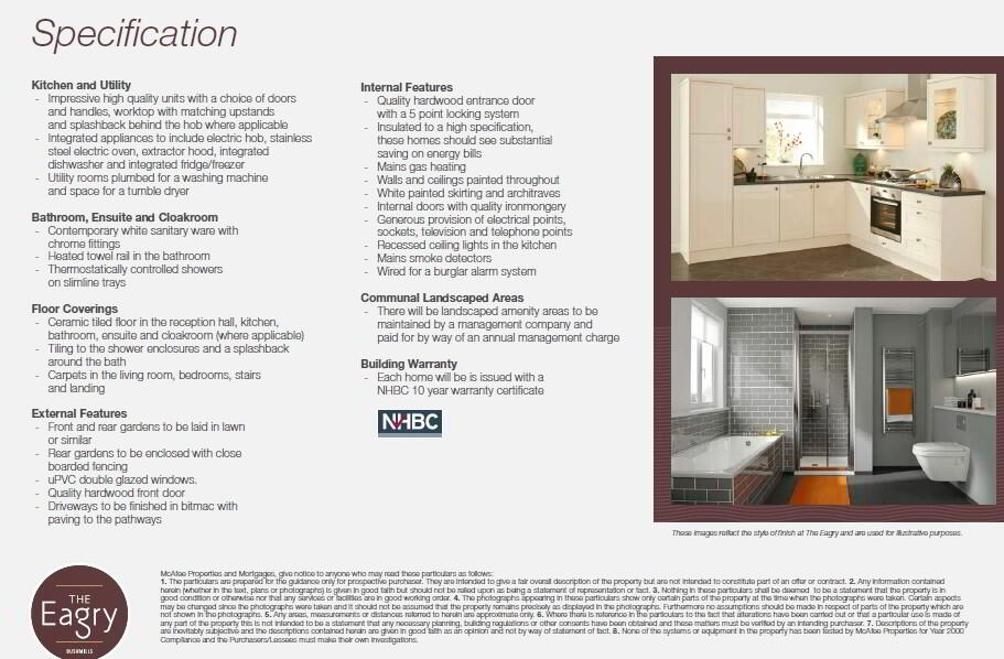 Floorplan 3 of The Haw (Detached), The Eagry, ** Nhbc Award Winning Site **, Bushmills