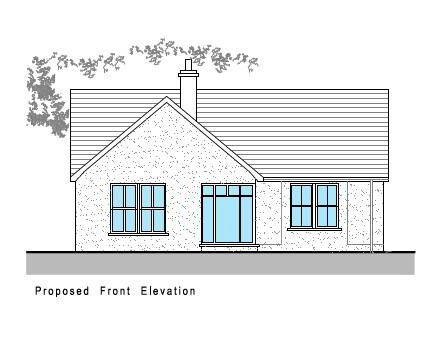Floorplan 1 of House Type B, The Willows, Ballinamullan Road, Killyclogher, Omagh