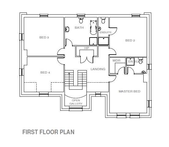 Floorplan 3 of Site 13, Castle Coole Manor, Lough Yoan Road, Enniskillen