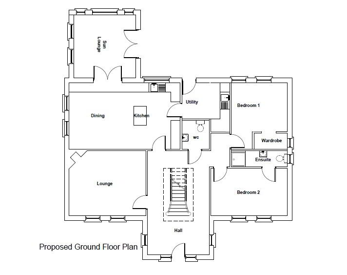 Floorplan 5 of Between 93 & 101 Rock Road, Rock Road Detached, Armagh