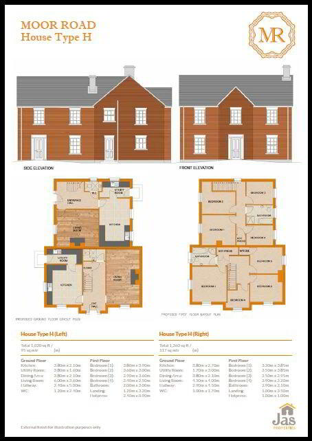 Floorplan 1 of H2, Moor Park, Moor Road, Coalisland